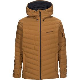 Peak Performance Frost Ski Jacket Herre Honey Brown